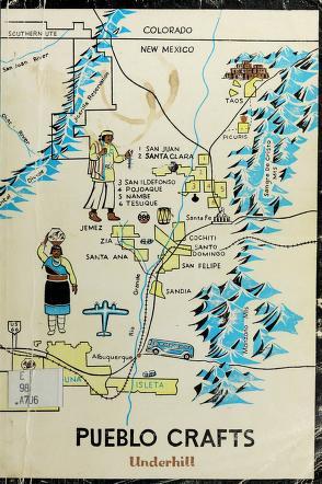 Cover of: Pueblo crafts   Underhill, Ruth Murray